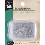 Size 12 350/Pkg - Quilting Applique Pins