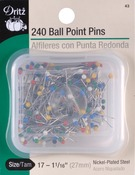 Size 17 240/Pkg - Color Ball Point Pins