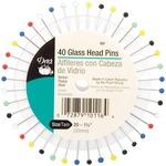 Size 20 40/Pkg - Glass Head Pins