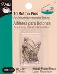 Size 00 10/Pkg - Button Pins