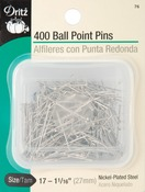 Size 17 400/Pkg - Ball Point Pins