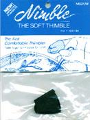 Medium - Leather Nimble Thimble W/Metal Tip