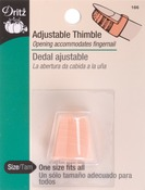 One Size Fits All - Adjustable Thimble