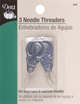 3/Pkg - Metal Needle Threaders