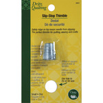 Small - Dritz Quilting Slip-Stop Thimble
