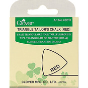 Red - Triangle Tailor's Chalk