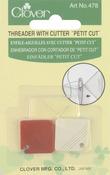 2/Pkg - Petite Needle Threader W/Cutter