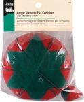 "4"" - Large Tomato Pincushion W/Strawberry Emery"