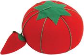 "2.5"" - Tomato Pincushion W/Strawberry Emery"