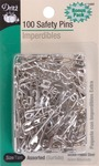 Safety Pins - Sizes 0 To 3 100/Pkg