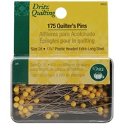 Size 28 175/Pkg - Dritz Quilting Quilter's Pins