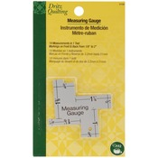 "1/8"" To 2"" - Dritz Quilting 14-In-1 Measuring Gauge"