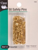 Sizes 00 & 0 50/Pkg - Safety Pins