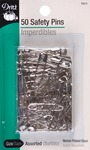 Safety Pins - Sizes 1 To 3 50/Pkg