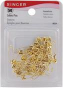 Sizes 00 & 0 50/Pkg - Safety Pins