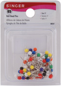 Size 17 65/Pkg - Ball Head Pins