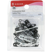 Sizes 1 & 2 25/Pkg - Professional Style Safety Pins
