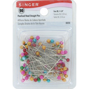 Size 20 90/Pkg - Pearlized Straight Pins