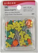 Size 24 100/Pkg - Decorative Straight Pins