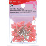 Size 24 75/Pkg - Decorative Straight Pins