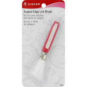 Nylon Angled - Edge Lint Brush W/Comfort Grip-
