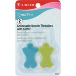 2/Pkg - QuiltPro Collectable Needle Threaders W/Cutter
