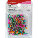 Pearlized Straight Pins - Size 20