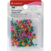 Size 20 150/Pkg - Pearlized Straight Pins