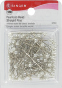 Size 24 120/Pkg - Pearlized Straight Pins