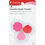 3/Pkg - Plastic Decorative Needle Threaders