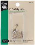 Size 00 14/Pkg - Safety Pins