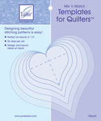 Heart - Mix'n Match Templates For Quilters 6/Pkg