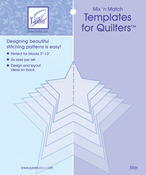 Star - Mix'n Match Templates For Quilters 6/Pkg