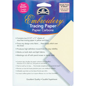 """8.5""""X11"""" 4/Pkg - Embroidery Tracing Paper"""