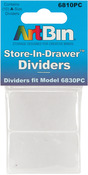 Fits 6830PC - ArtBin Store-In-Drawer Dividers 10/Pkg