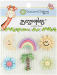 Tropical Vacation - BaZooples Buttons