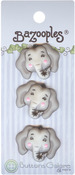 Elsie The Elephant - BaZooples Buttons