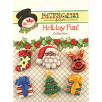 Here Comes Santa - Holiday Fun Buttons