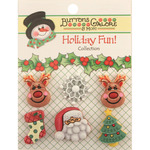 Reindeer Games - Holiday Fun Buttons