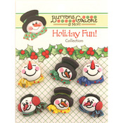 Snowman Medley - Holiday Fun Buttons