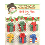 Christmas Presents - Holiday Fun Buttons