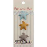 Starfish - Fun In The Sun Buttons