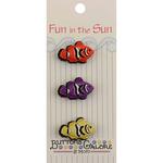 Clown Fish - Fun In The Sun Buttons