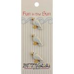 Seagull - Fun In The Sun Buttons