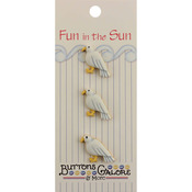 Seagull - Fun In The Sun Buttons