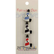 Lighthouse - Fun In The Sun Buttons