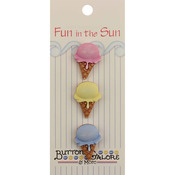 Single Scoop - Fun In The Sun Buttons