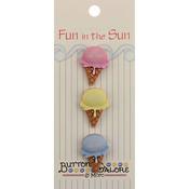 Single Scoop - Fun In The Sun Buttons