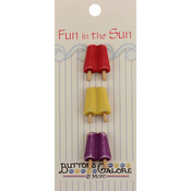 Popsicles - Fun In The Sun Buttons