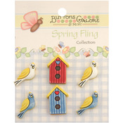 Birds Of A Feather - Spring Fling Buttons